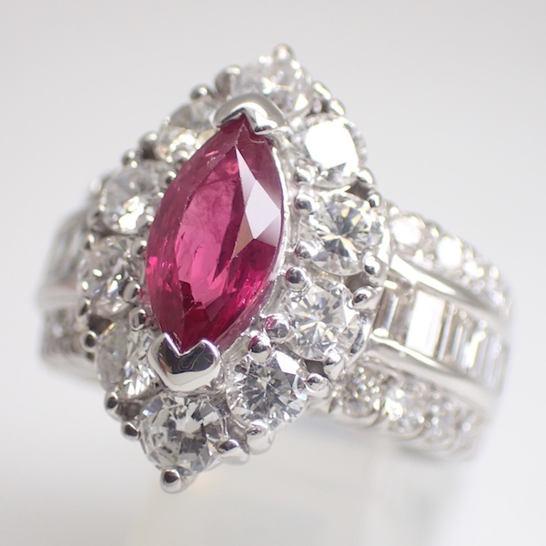Ruby Ring 1.28ct