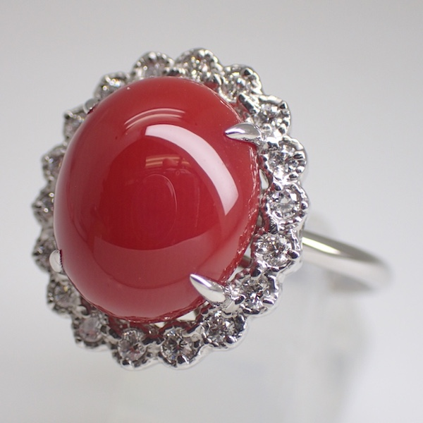 Coral Ring 4.284ct