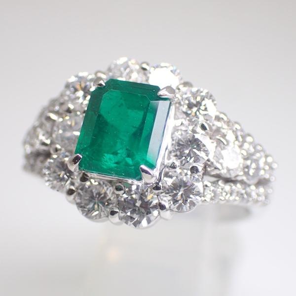 Emerald Ring 4.478ct