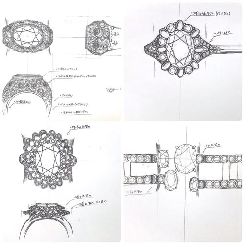デザイン画の一例